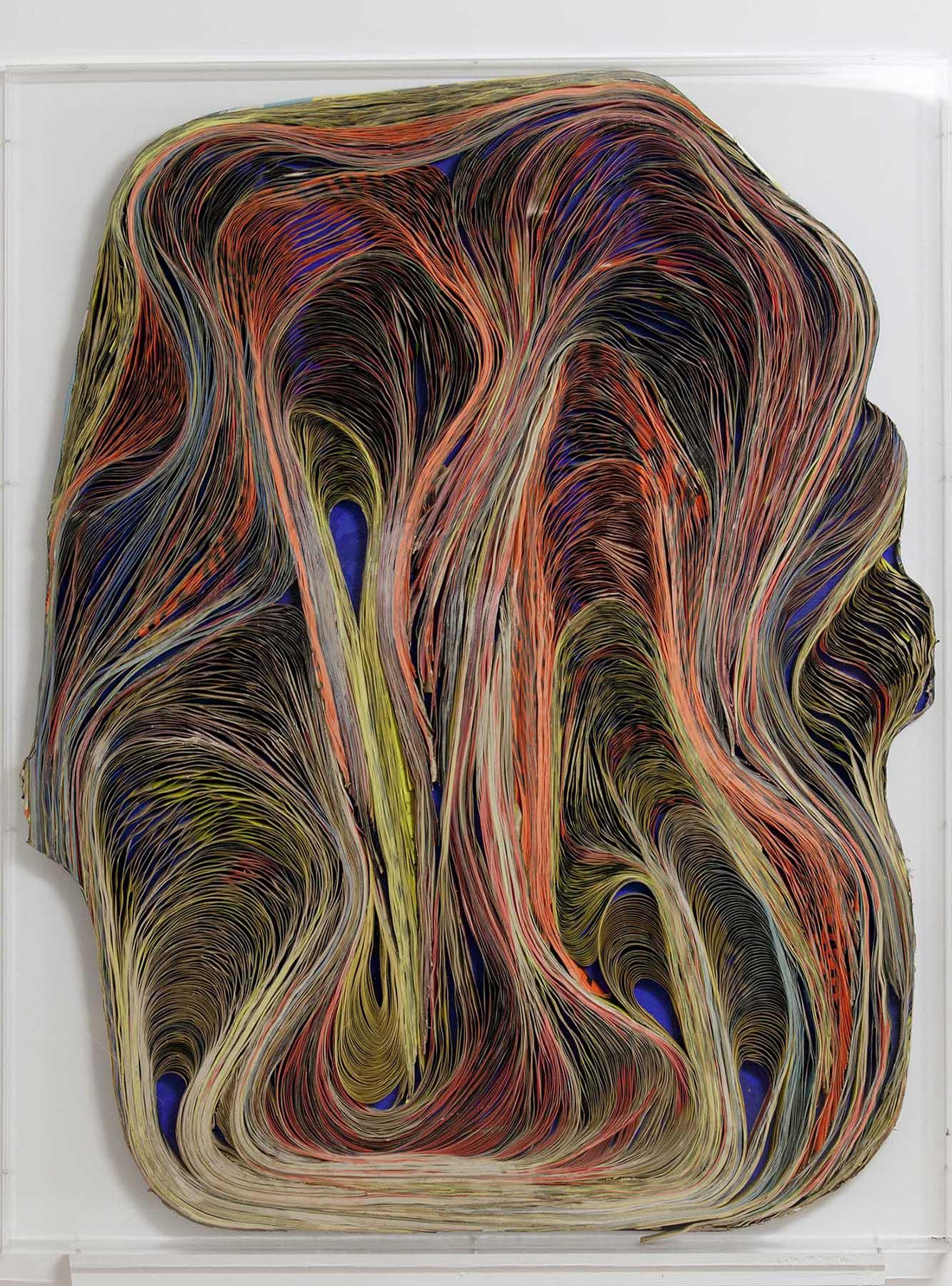 Pavlos, Baroque, 1966 Affiches Massicotées, 127 x 157 x 9cm