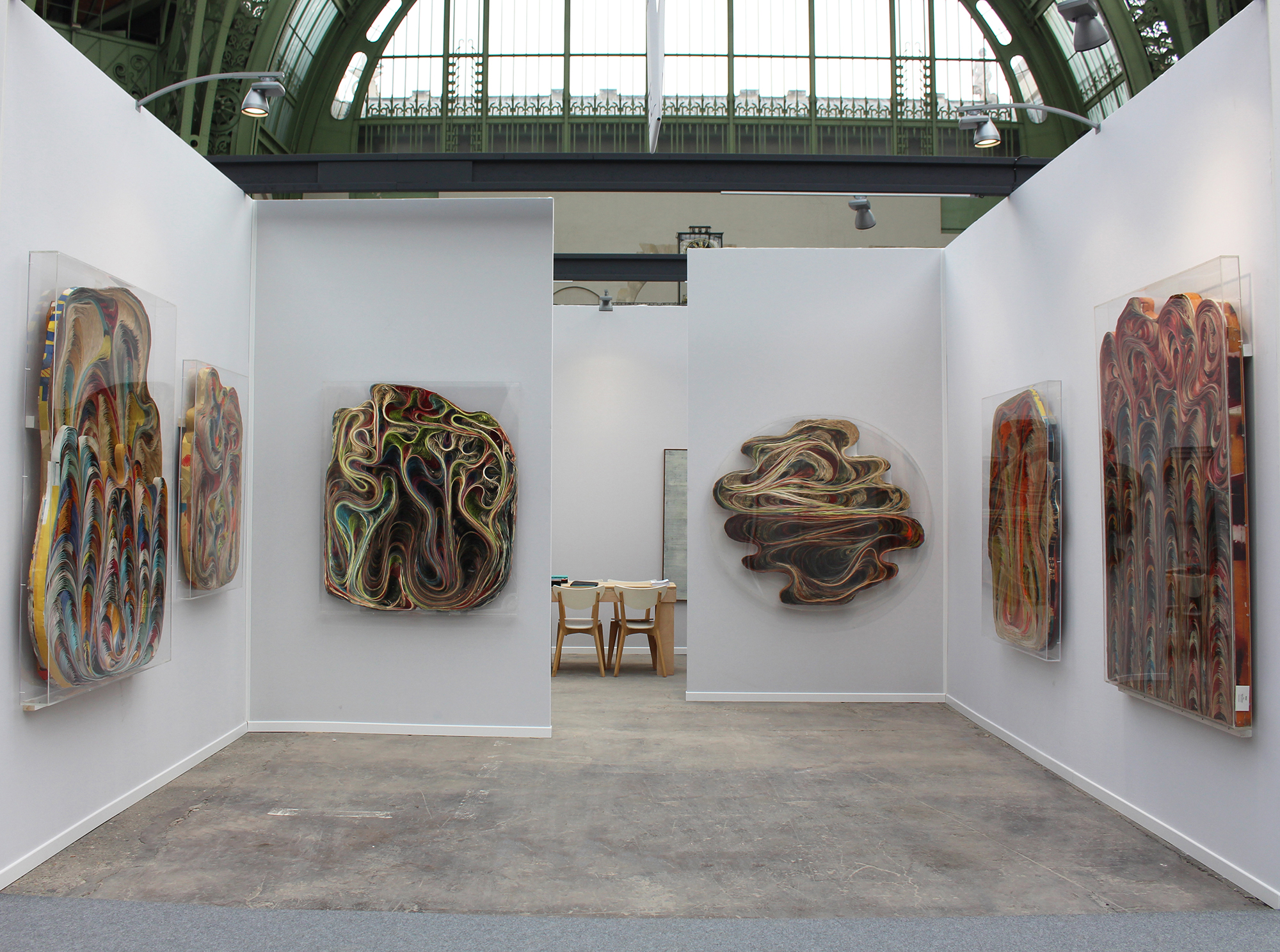 Art Paris Art Fair – Booth E13 / Sobering Galerie at Art Paris Art Fair (booth E13), exhibition view, March 30th - April 2nd 2017, Pavlos' Baroque series (1966)