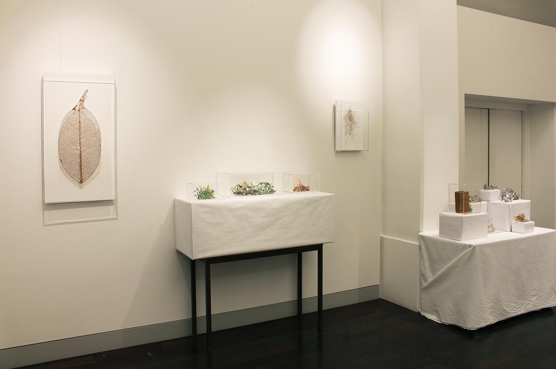 "Exhibition view, ""Works"", Rodrigo Arteaga, Alexandra Hopf, Alessandro Roma Hôtel de l'Industrie, February 18th - February 20th, 2016"