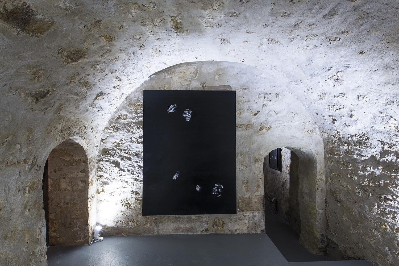 Lorenzo Puglisi Il Giudizio, 2015, oil on canvas, 200 x 150 cm