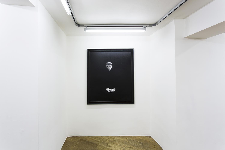 Lorenzo Puglisi Ritratto 130915, 2015, oil in canvas, 120 x 100 cm