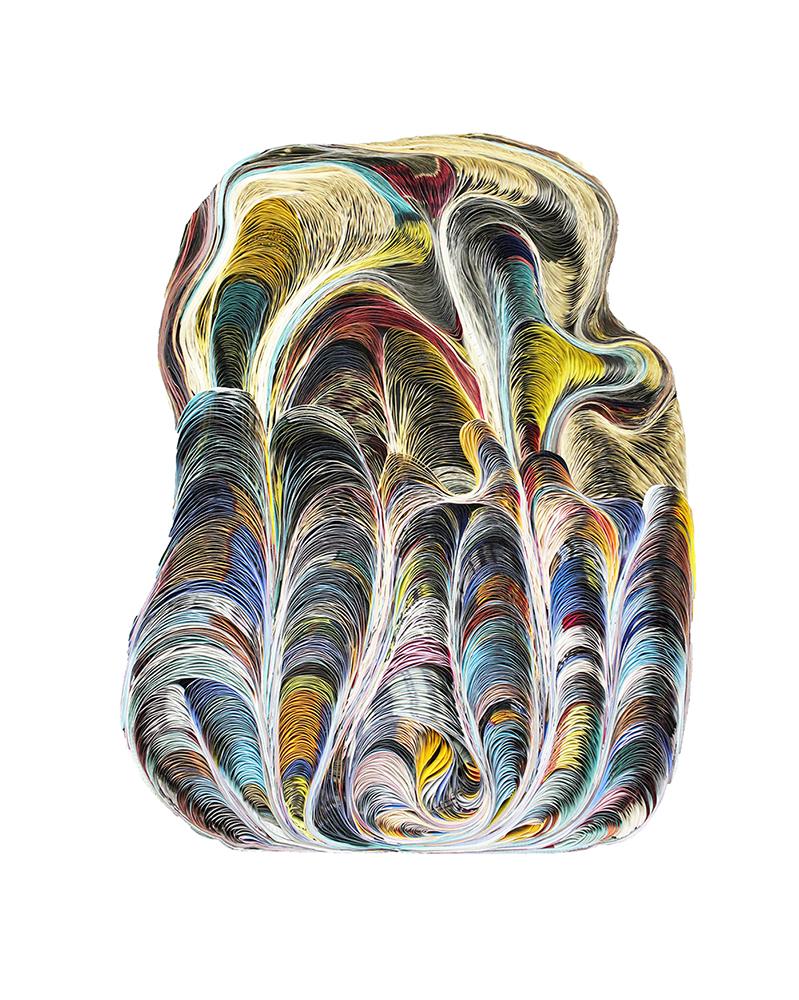 Baroque, 1966 Plexiglas, 135,5 x 178 x 7 cm