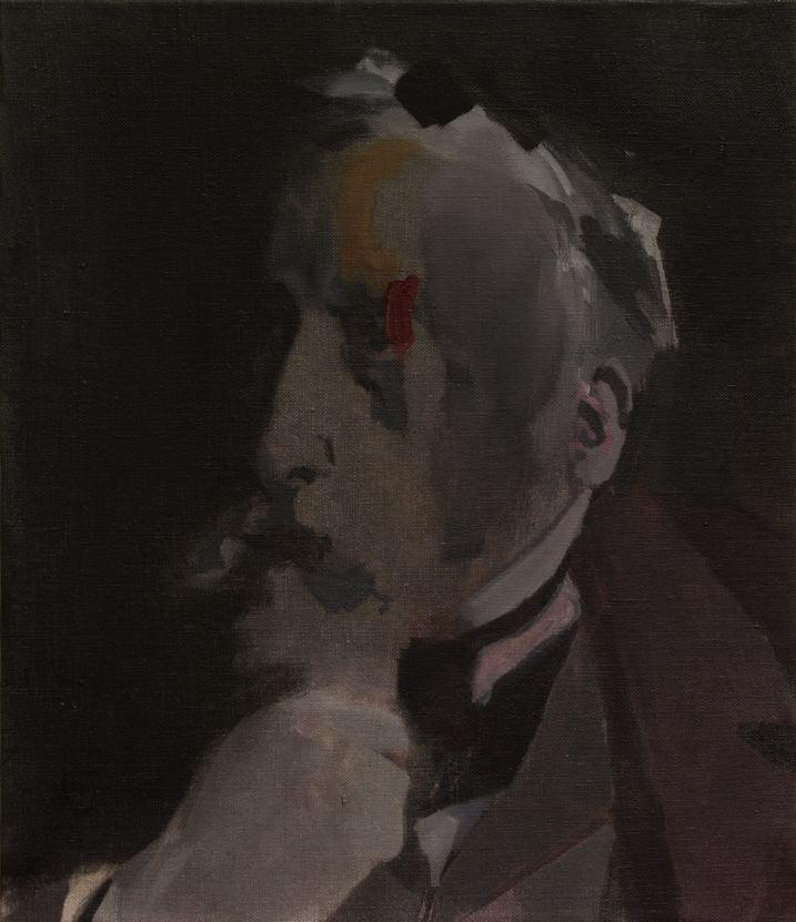 Nacho Martín-Silva The blind painters I, 2015 oil on linen, 41 x 35 cm