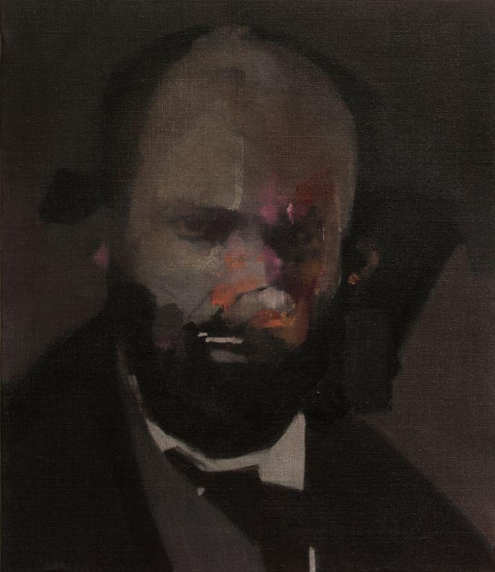 Nacho Martín-Silva The blind painters II, 2015 oil on linen, 41 x 35 cm