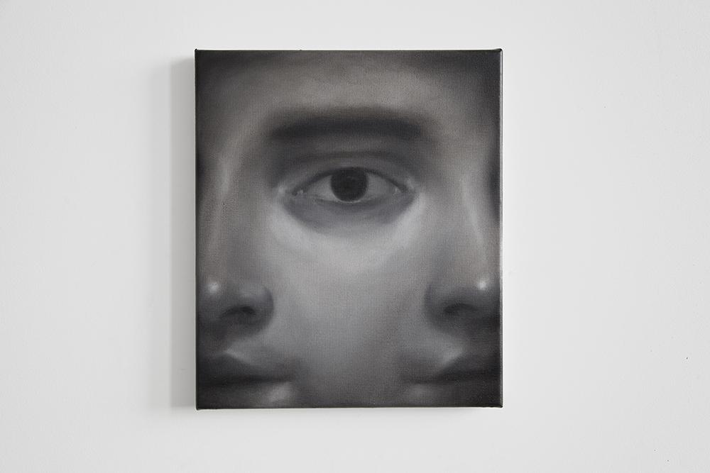 Alain Urrutia Dagger London, 2015 oil on canvas, 35 x 30 cm