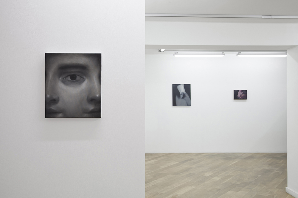 Brisure de symétrie, curated by Bernardo Sopelana, Nacho Martín-Silva and Alain Urrutia, exhibition view, December 2015