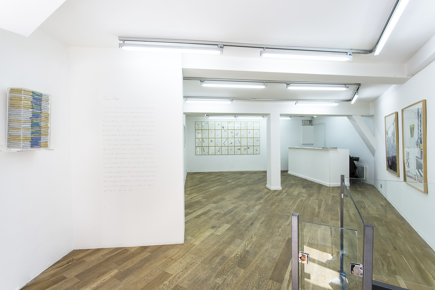 Au fond du couloir, Pierre Petit, exhibition view, September 2015
