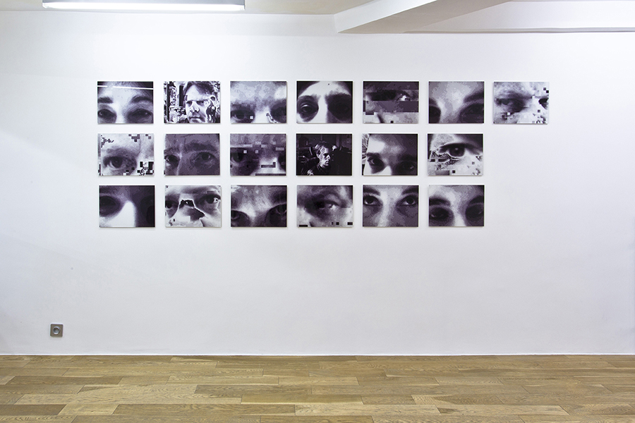 Esther Shalev-Gerz A Gaze at Algeria - Look only through your eyes, 1997 19 photographs, 40 x 30 cm, mounted on aluminium