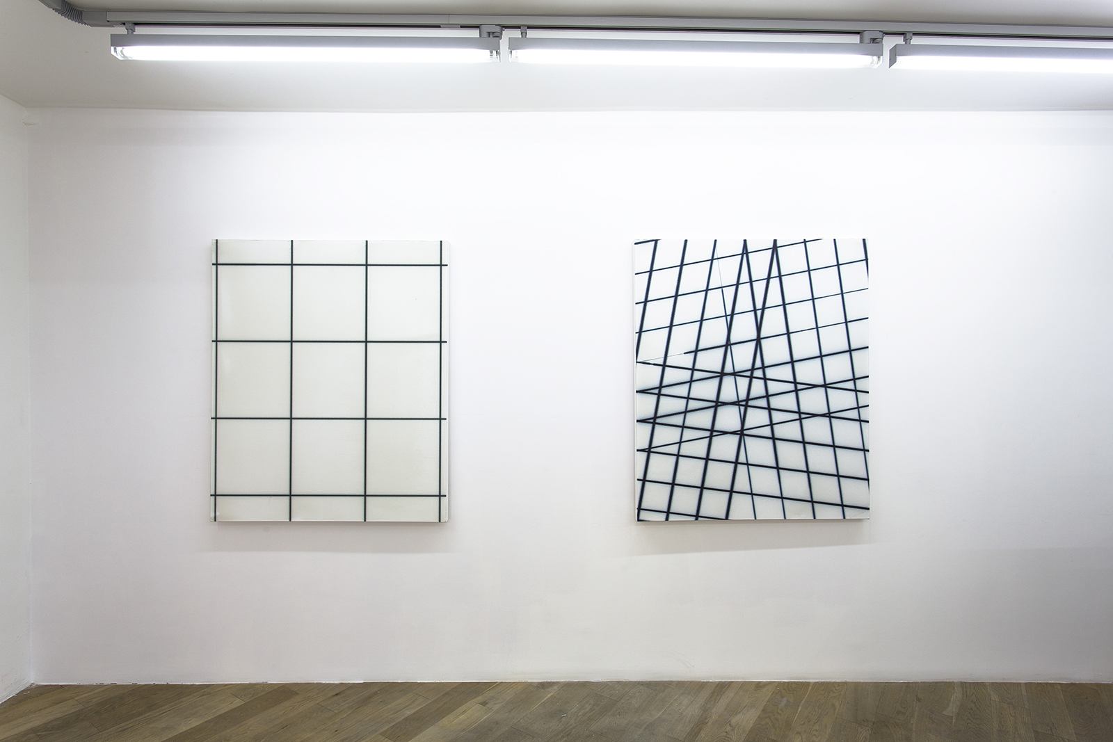 Tendency to movement, Thomas Baumann, exhibition view, June 2015