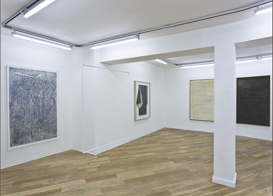 Screen Memories, Alexandra Hopf, exhibition view, March 2015