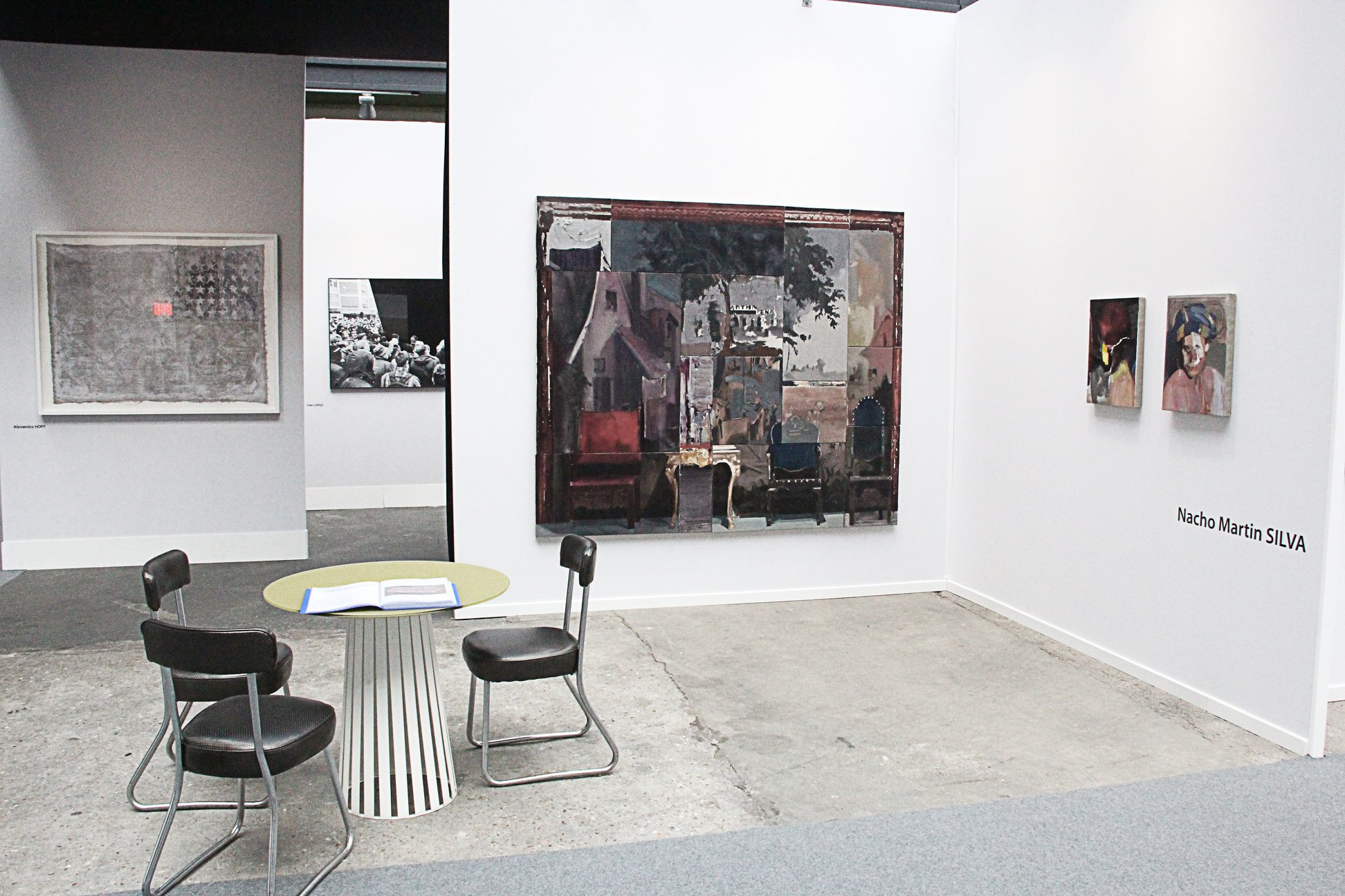 Exhibition D View : Camilla d errico art exhibition shows a different view of the