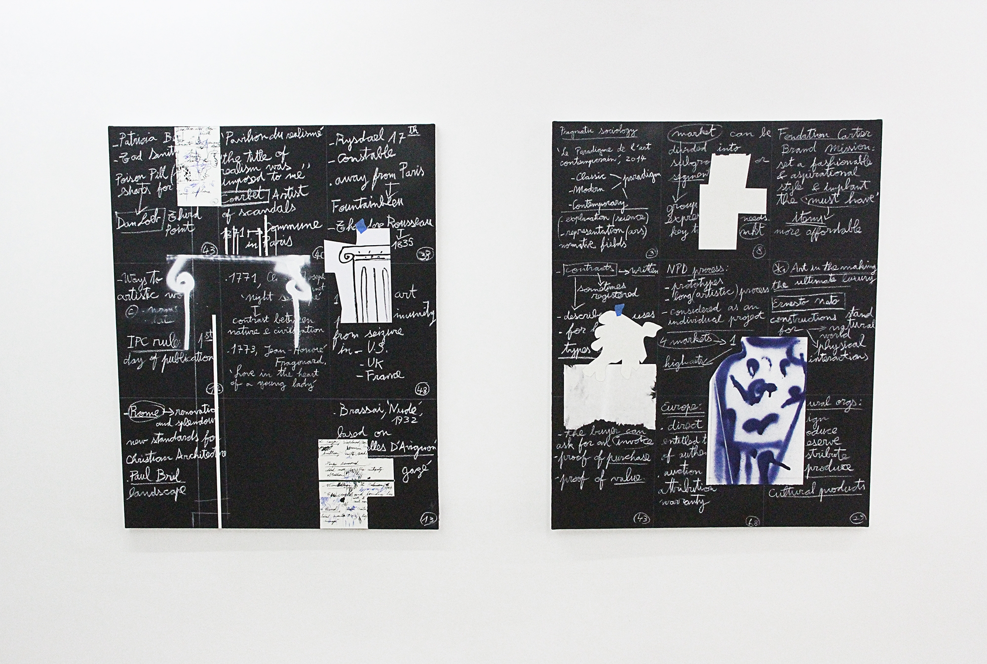 Alejandro M. Parisi, The precise order of things, solo show, 2018