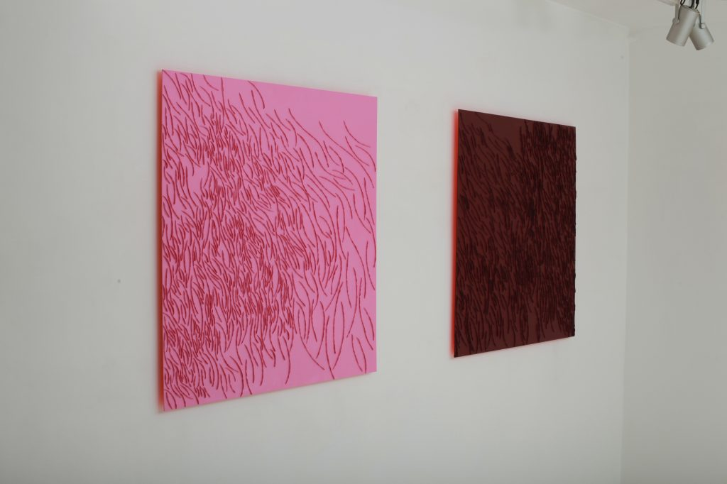 Exhibition view, L'opportunité du désir by Nathalie Rothkoff, September 2019