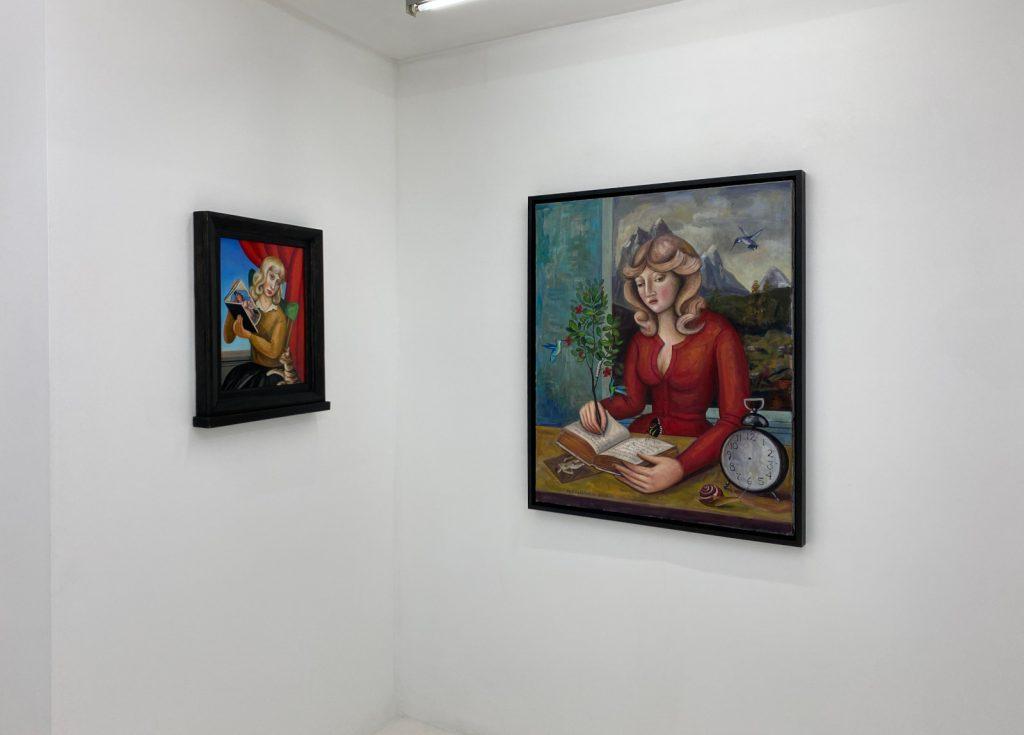 Exhibition View - Remembering My Future - Rick Beerhorst - October 2020