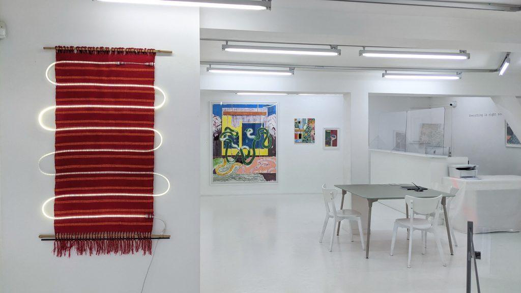 vue d'expo Knia Almaraz Murillo x José Cori