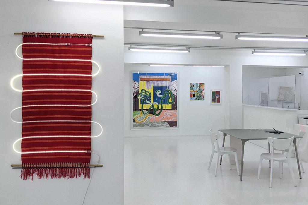 vue d'expo Kenia Almaraz Murillo x José Cori