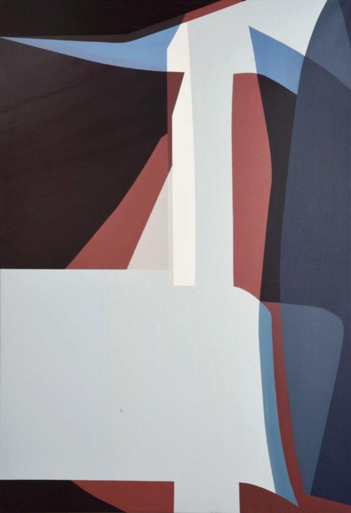 Etienne Gayard, sans titre, 2018, peinture acrylique, 130x89 cm