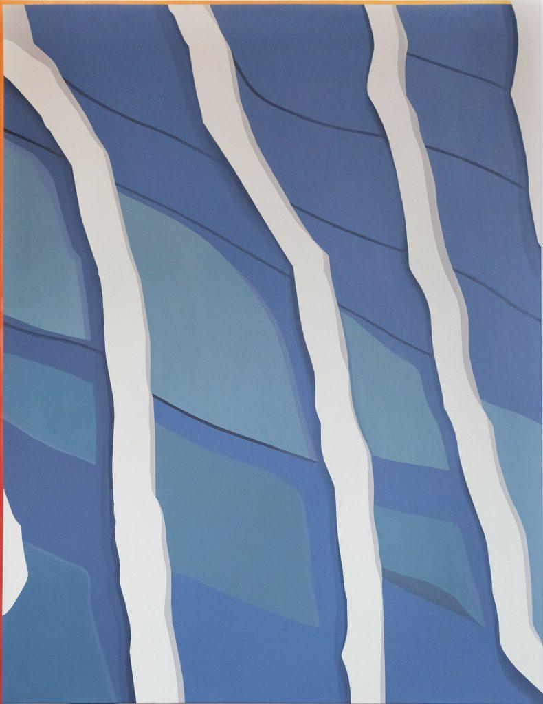 Etienne, sans titre, 2019, peinture acrylique, 89x130 cm