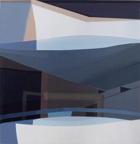Etienne Gayard, sans titre, 2021, peinture acrylique, 24x26 cm