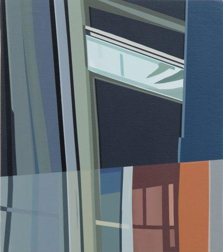 Etienne Gayard, sans titre, 2021, peinture acrylique, 30x35 cm