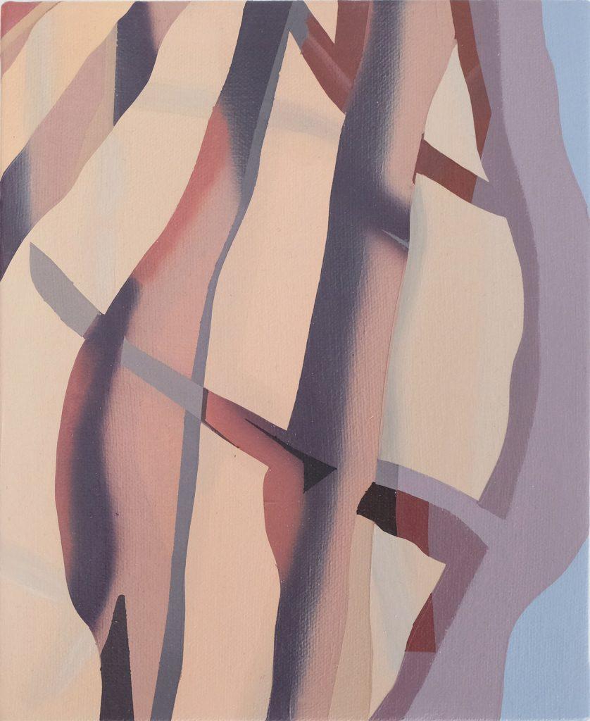 Etienne Gayard, sans titre, 2021, peinture acrylique, 18x22 cm
