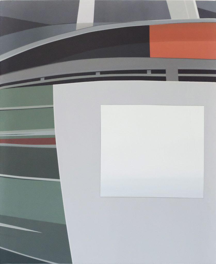 Etienne Gayard, sans titre, 2021, peinture acrylique, 45 x 60cm