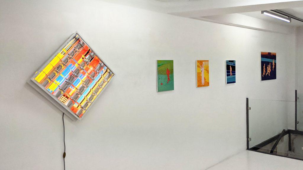 vue d'expo oeuvres xarli zurell et anine kirsten