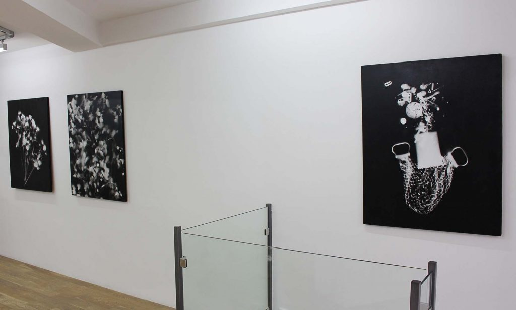 François Arnal, Bombardements exhibition view, October 2017