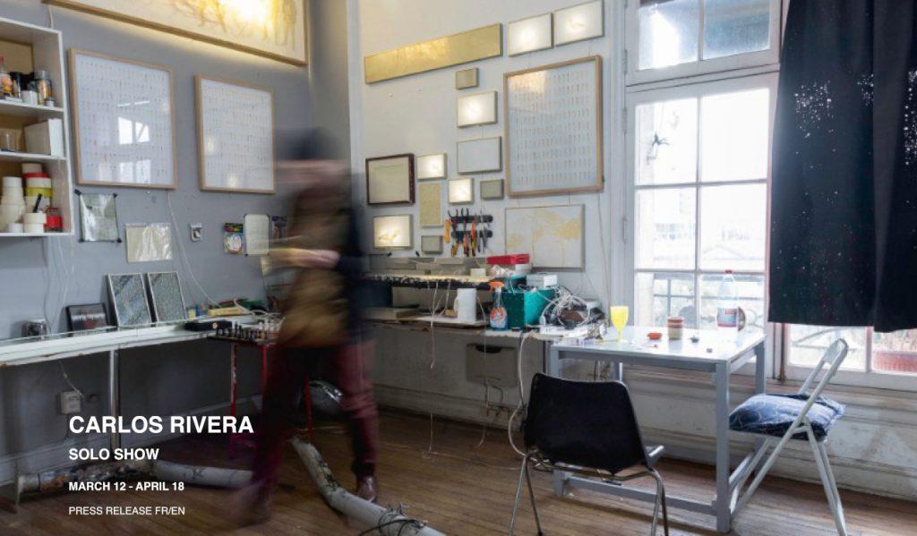 carlos rivera exposition sobering galerie paris marais