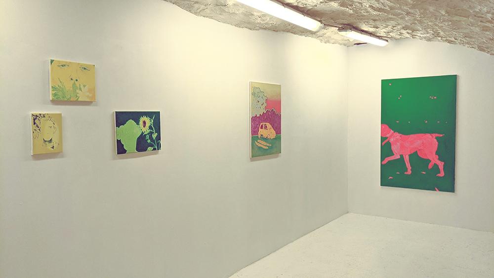 vue d'expo oeuvres xarli zurell